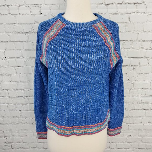 Asos Pullover Sweater Blue 8
